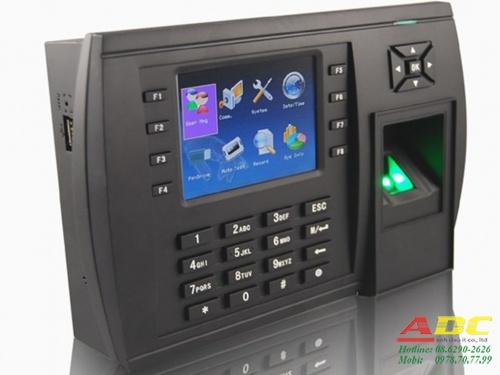 Máy chấm công vân tay và thẻ cảm ứng MITA 8683